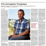 Markus Oppliger, wie ein kaputter Tempomat